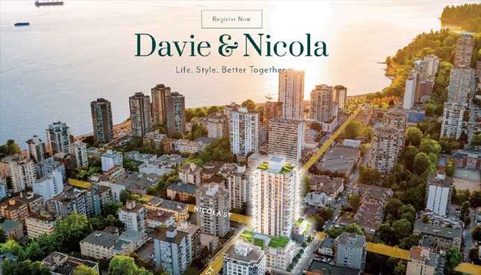West End Vancouver Davie & Nicola Condos for Sale