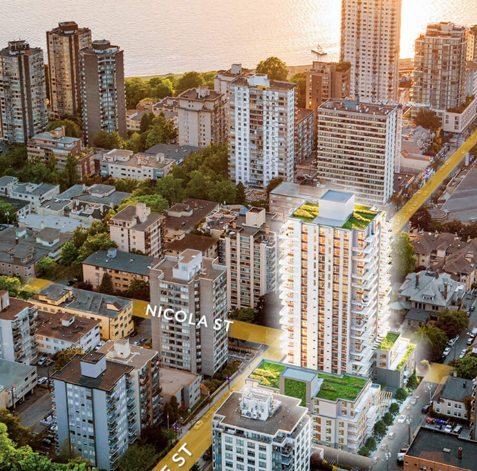 Presale Downtown Vancouver Davie & Nicola Condos
