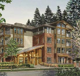 The Polygon Homes Evergreen House Lynn Valley North Vancouver rental apartment building is now being offered by the Goodman Team and MacDonald Commercial Real Estate Services.