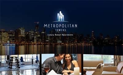 The luxury Vancouver rental apartments at Metropolitan Tower downtown condos for rent are now here.