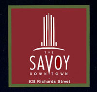 Located at 928 Richards Street in downtown resales Vancouver real estate market, the Savoy condo units are amazingly finished with top notch features and amenities close by.