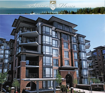 The luxury White Rock Sussex House condominium residences are now on the resale property market.